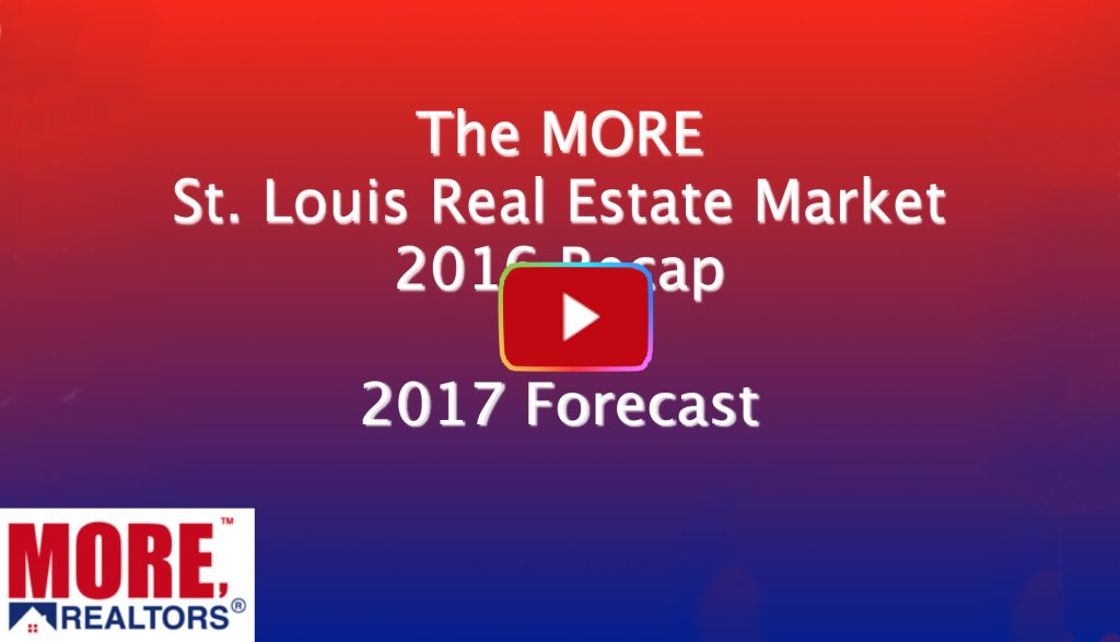 St Louis Real Estate Market 2016 Recap and Forecast for 2017